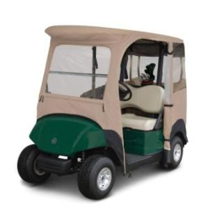 Custom Golf Cart Enclosure for Yamaha Drive