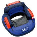Closed-Front Float Tube