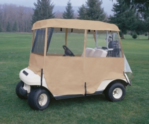 4-sided golf cart enclosure