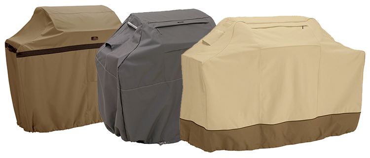 protect it like a pro with one of our durable ravenna or rugged hickory grill covers from classic accessories - Grill Covers